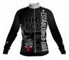 Chicago Bulls Retro Long Sleeve Cycling Jersey