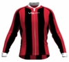 Chicago Bulls Striped Long Sleeve Cycling Jersey