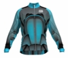Chicago Fire Aqua Keeper Long Sleeve Cycling Jersey