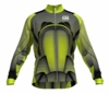 Chicago Fire Lime Keeper Long Sleeve Cycling Jersey