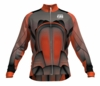 Chicago Fire Orange Keeper Long Sleeve Cycling Jersey