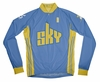 Chicago Sky Away Long Sleeve Cycling Jersey