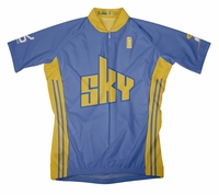 Chicago Sky Away Short Sleeve Cycling Jersey