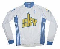 Chicago Sky Home Long Sleeve Cycling Jersey