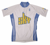 Chicago Sky Home Short Sleeve Cycling Jersey