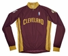 Cleveland Cavaliers Away Long Sleeve Cycling Jersey Free Shipping