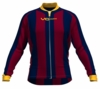 Cleveland Cavaliers Striped Long Sleeve Cycling Jersey