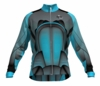 Colorado Rapids Aqua Keeper Long Sleeve Cycling Jersey