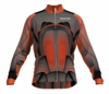 Colorado Rapids Orange Keeper Long Sleeve Cycling Jersey