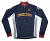 Connecticut Sun Away Long Sleeve Cycling Jersey