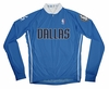 Dallas Mavericks Away Long Sleeve Cycling Jersey Free Shipping