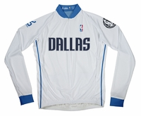 Dallas Mavericks Long Sleeve Cycling Jersey Free Shipping
