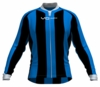 Dallas Mavericks Striped Long Sleeve Cycling Jersey