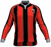 DC United Long Sleeve Cycling Jersey