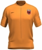 DC United Lucky Orange Keeper Short Sleeve Cycling Jersey