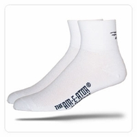 Defeet D Logo White Socks
