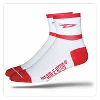 Defeet D Team Red Socks