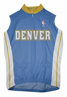 Denver Nuggets Away Sleeveless Cycling Jersey