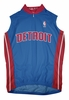 Detroit Pistons Away Sleeveless Cycling Jersey