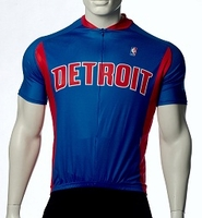 Detroit Pistons Cycling Jersey