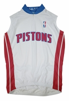 Detroit Pistons  Sleeveless Cycling Jersey Free Shipping