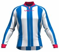 Detroit Pistons Striped Long Sleeve Cycling Jersey
