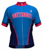 Detroit Pistons Wind Star Cycling Jersey