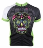 Dia De Los Muertos Green Men's Cycling Jersey