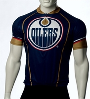 Edmonton Oilers Cycling Jersey