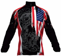 Fallen Warrior Cycling Windbreaker