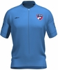 FC Dallas Lucky Blue Keeper Short Sleeve Cycling Jersey