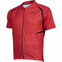 Fox Aircool Red Cycling Jersey