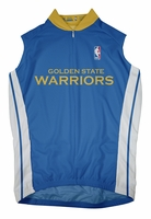 Golden State Warriors Away Sleeveless Cycling Jersey
