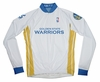 Golden State Warriors Long Sleeve Cycling Jersey Free Shipping