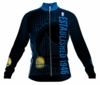 Golden State Warriors Retro Long Sleeve Cycling Jersey