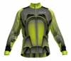 Houston Dynamo Lime Keeper Long Sleeve Cycling Jersey