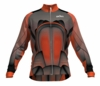 Houston Dynamo Orange Keeper Long Sleeve Cycling Jersey