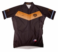 Houston Dynamo Secondary Short Sleeve Cycling Jersey