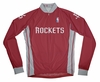 Houston Rockets Away Long Sleeve Cycling Jersey Free Shipping