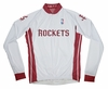 Houston Rockets Long Sleeve Cycling Jersey Free Shipping