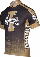Idaho Vandals Gold Cycling Jersey Free Shipping