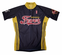 Indiana Fever Away Short Sleeve Cycling Jersey