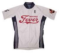 Indiana Fever Home Short Sleeve Cycling Jersey