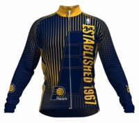 Indiana Pacers Retro Long Sleeve Cycling Jersey