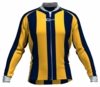 Indiana Pacers Striped Long Sleeve Cycling Jersey