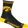 Iowa Hawkeyes Socks