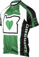 Its in My Heart Oregon Women's Cycling Jersey