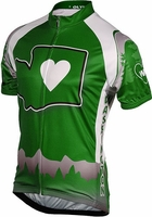 Its in My Heart Washington Women's Cycling Jersey