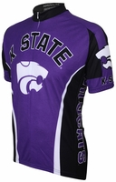 Kansas State University Wildcats Cycling Jersey Free Shipping