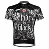 Left Hand Fade to Black Men's Cycling Jersey